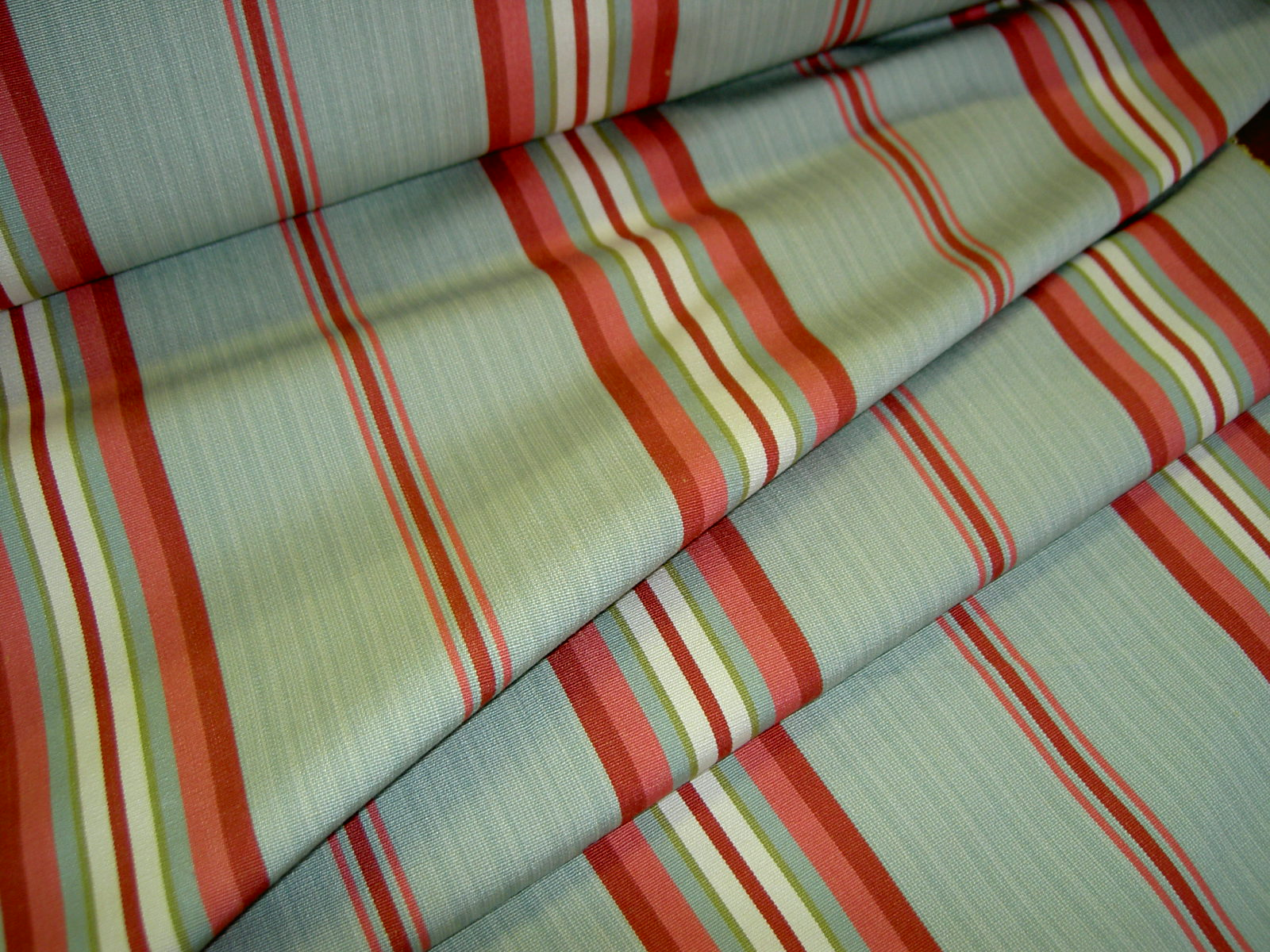 Folded Fabric Image Of Striped Multiuse Discount Designer Home Decor Fabric  At Schindlers