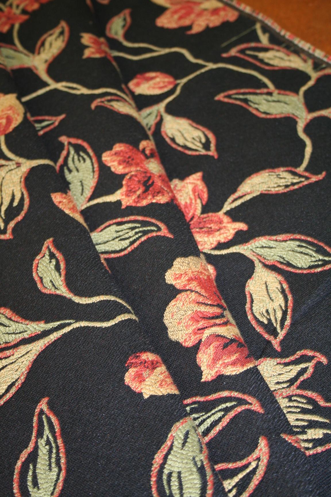 Marcovaldo Fabrics Pattern Darjeeling Color Night