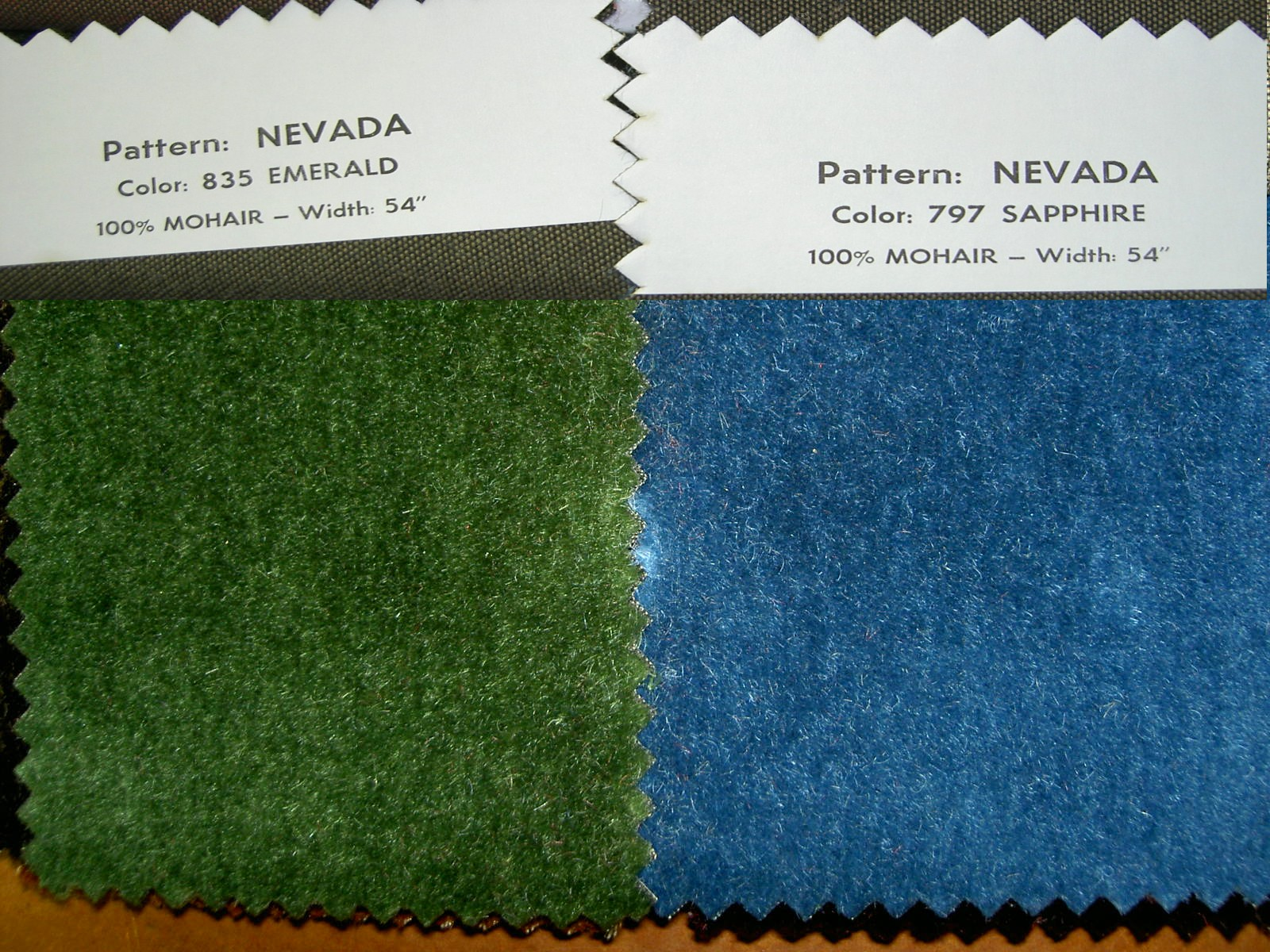 By The Yard Mohair Upholstery Fabric Multiple Beautiful Colors
