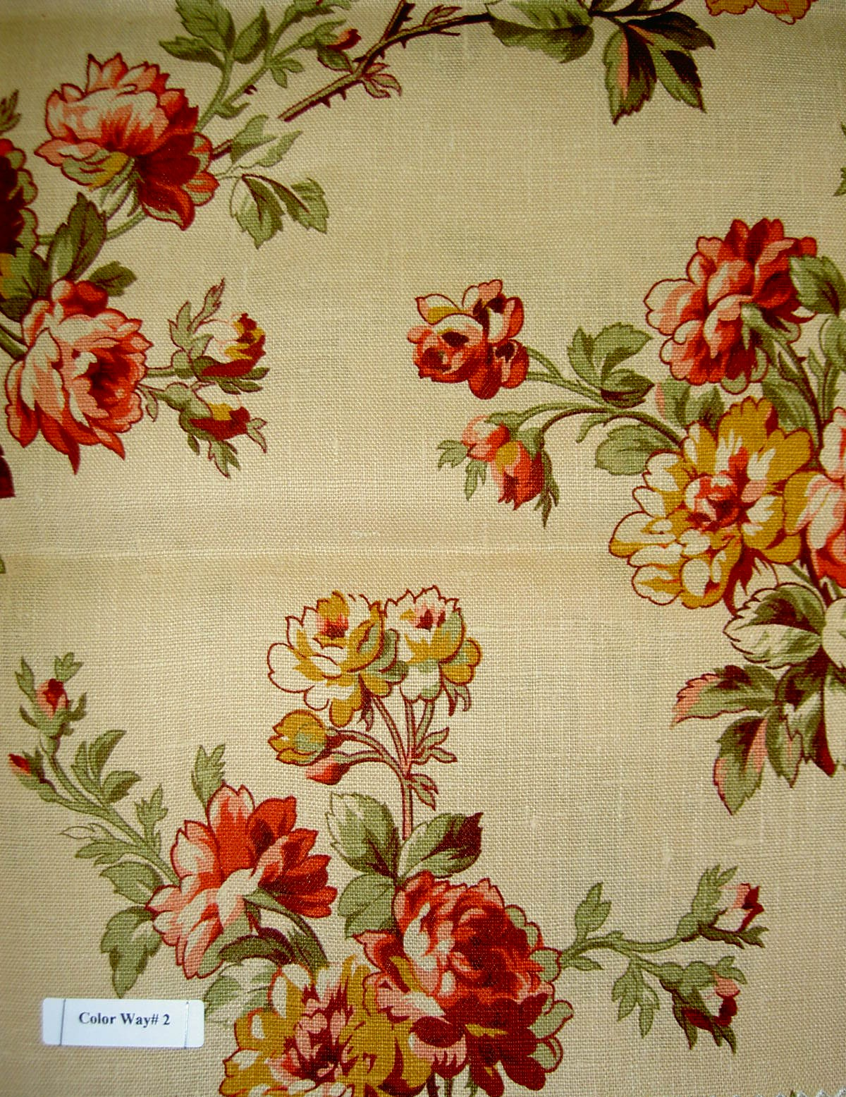 Additional pictures of natural linen pattern dianna color for Children s home decor fabric