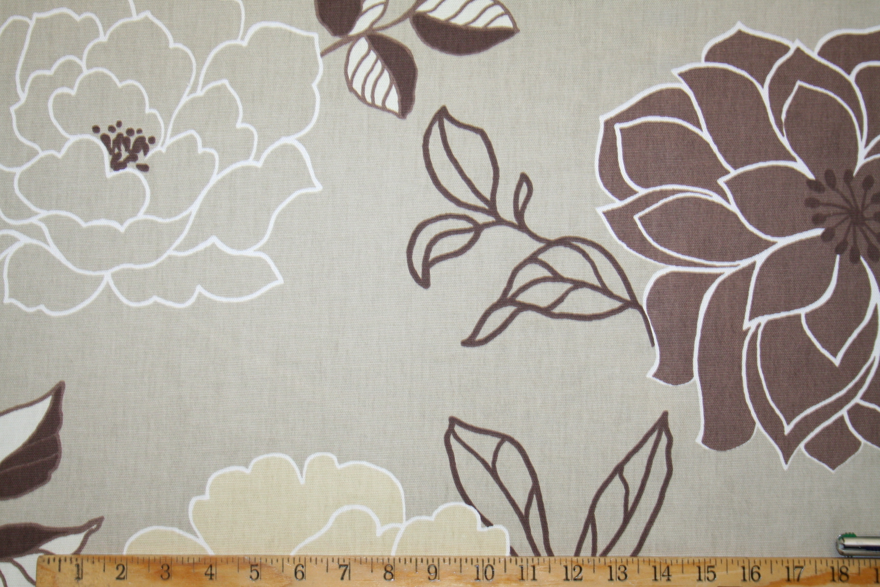 Get a sample of this Prestigious Textiles Pattern Summer Garden Color  Natural Interior Decorating Fabric,