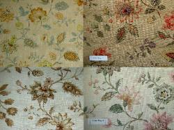 Natural Linen Pattern Peruga Color Ways Home Decor Fabric